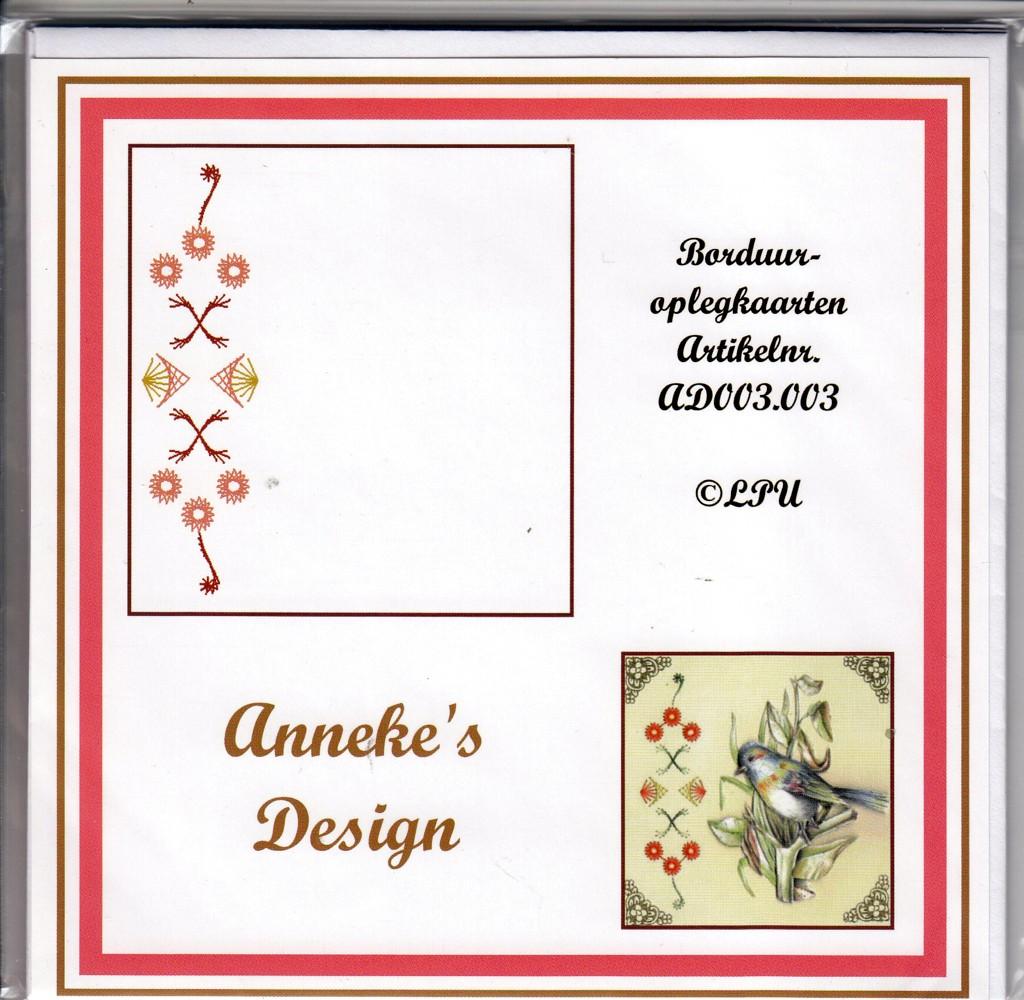 Stickkarten Annekes Design