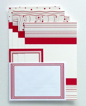 Kartensets und Papier
