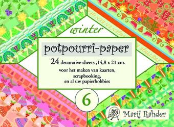 Potpourri-Papier