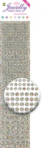 3.8046 Jewelly Pearls & Gems Dots Diamond Silver, 2 Bogen