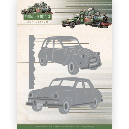 ADD10250 Dies - Amy Design - Vintage Transport - Cars