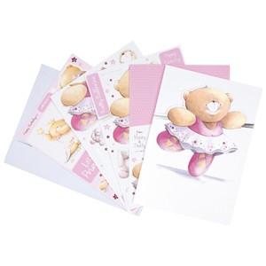 FFS 1691305  A4 Ultimative Decoupage Karte - Birthday Girl