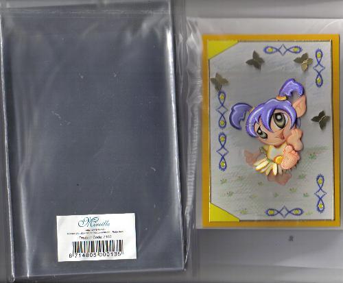 7103c Kartenschutzhuellen C6 100 stück