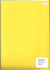 A5-Kartenpapier citronengelb