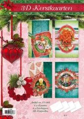 171-002 3D Weihnachtskarten Paket 2