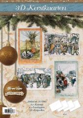 171-003 3D Weihnachtskarten Paket 3
