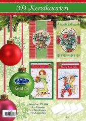 171-004 3D Weihnachtskarten Paket 4