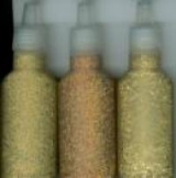 12192-9203 Glitter Glue Set 3 Sorten Gold