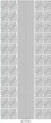 1073-102 Wellen Ecken silber