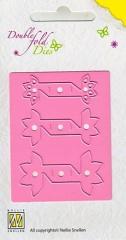 DFD 005 Double Fold Dies Flower open