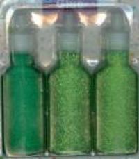 12192-9208 Glitter Glue Set 3 Sorten grün
