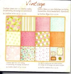 1010241x Papierblock Vintage 9
