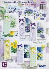 FH66-001 Kartenpaket Blumenkarten von Franz Heigl