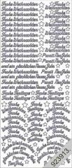 454g Frohe Weihnachten Kleine Schriften gold