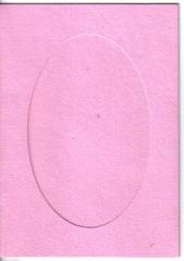 Klapp-Karte rosa