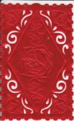 1230 Satindeckchen rot