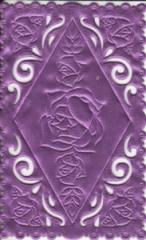 1236 Satindeckchen lila