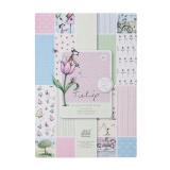 TLP 160100 Tulip A5 Linen Paper Pack