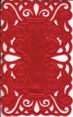 1240 Satindeckchen rot