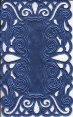 1241 Satindeckchen blau