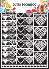 472.948.001 DUTCH DOOBADOO Dutch Paper Art A5 Hearts