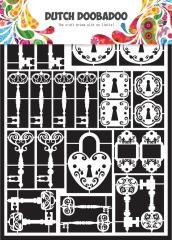 472.948.009 DUTCH DOOBADOO Dutch Paper Art A5 Keys