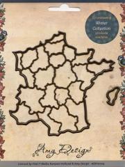 ADD10006x Stanzschablone Frankreich