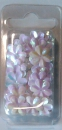 18-3109 Blumenpailetten 15 mm weiß
