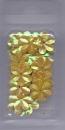 18-3164 Blumenpailetten 15 mm gelb