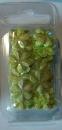 18-3144 Blumenpailetten 15 mm grün