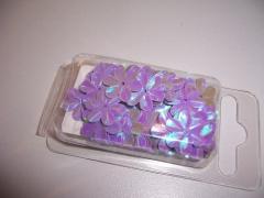18-3112 Blumenpailetten 15 mm lila