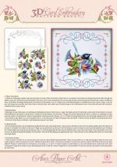 3DCE13004 Anns Paper Art Morning Glory