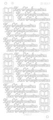 CD3027g Zur Konfirmation Platinium gold