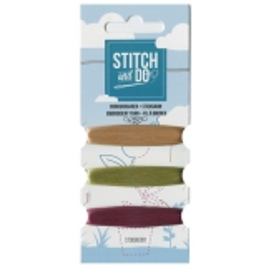 STDOBG001 Stitch and Do 1 Mini Garnkarte