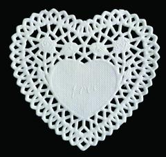 PD008 Paper Frames  12,5 cm Heart (Herz)