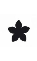 115635-5029 Easy Punch Motivstanzer Blume 5 Blätter 16 x 16 mm