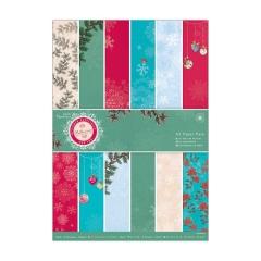 PMA 160927x A5 Paper Pack (36 Blatt) Bellissima Christmas
