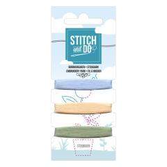 STDOBG009 Stitch & Do 9 Mini Garnkarte