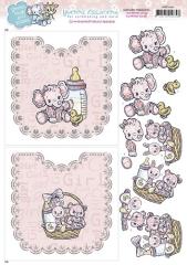 HDOT10001 YC Hobbydots Sheets Baby Girl