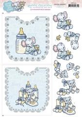 HDOT10002 YC Hobbydots Sheets Baby Boy