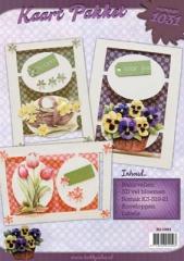 HI-1031 Karten Paket Blumen