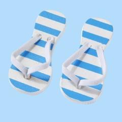 3860626 Flip-Flops blau gestreift