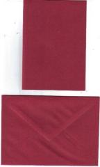 Karte wein-rot