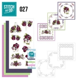 STDO027 Stitch & Do 27  Flowers