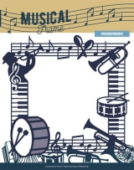 MUSD10001 YC Musik Serie Schneideschablone Musikal Frame