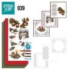 STDO039 Stitch & Do 39 Weihnachtsgrüße