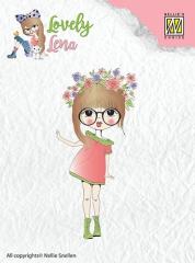 CSLL004 NS Lovely Lena Floral Wreath