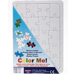 Blanko Puzzle mit Legerahmen