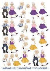 067265 Oma und Opa tanzen