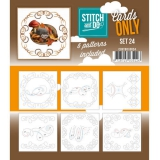 COSTDO10024 Stitch & Do Card Only Set 24